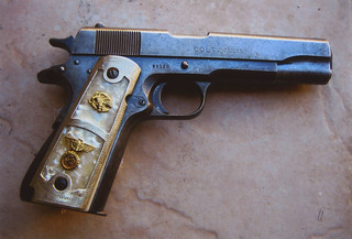 Colt 38 Super | My dad's Colt model 1911 in  38 Super - with