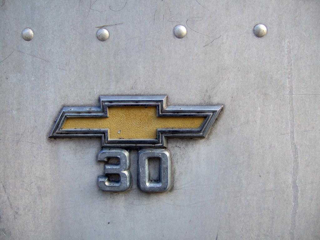Chevy 30 Emblem Step Van | Ezra Wolfe | Flickr