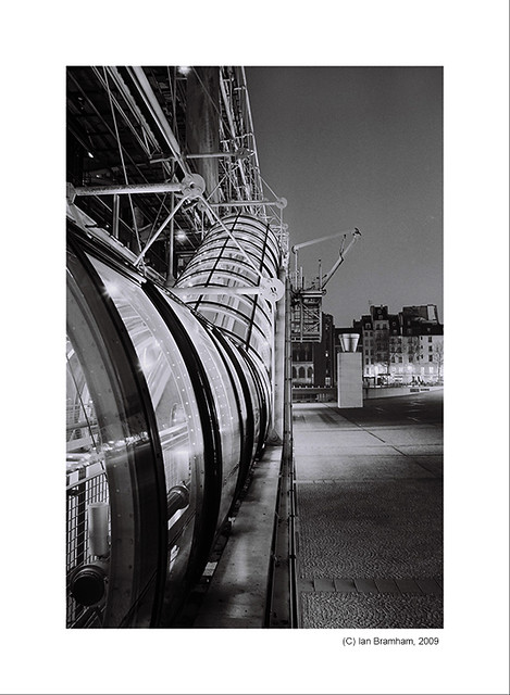 Pompidou Centre, Paris  (digital v film comparison)
