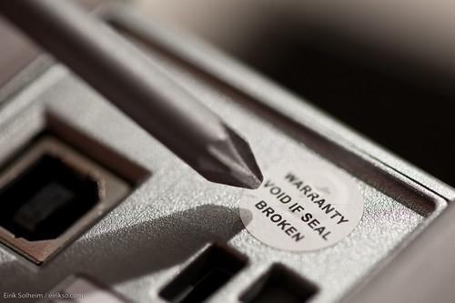 Warranty Void if Seal Broken | by eirikso