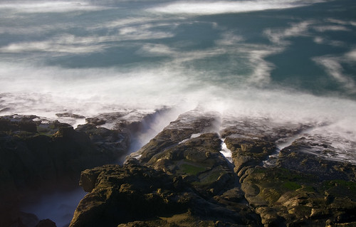 ocean longexposure nature oregon landscape coast capearago nd400 reallylongexposure hoyamoose