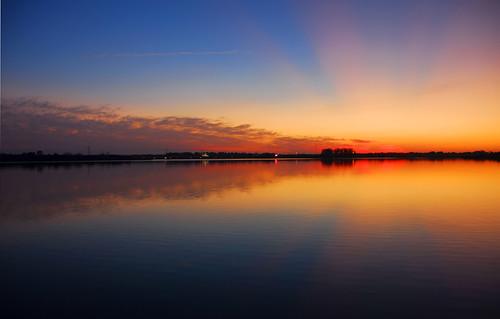 sunset atardecer amanecer reflexions sunrice