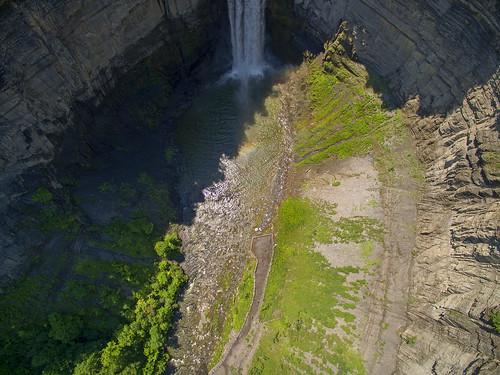 usa ny water canon waterfall aerial gorge fingerlakes drone taughannockfalls dji dronephotography djiphantom3 dronetaughannock