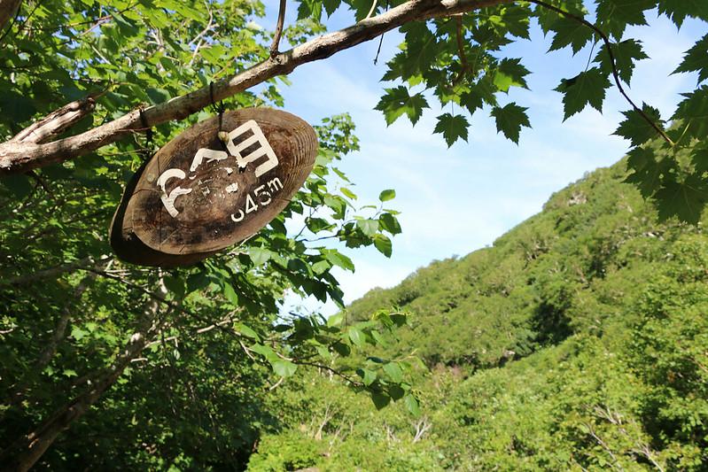 斜里岳 登山 6合目