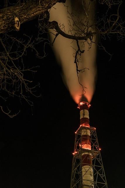 New Year's chimney