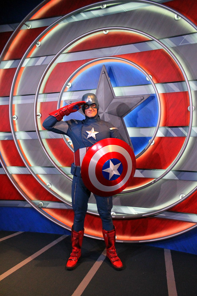 Meeting Captain America