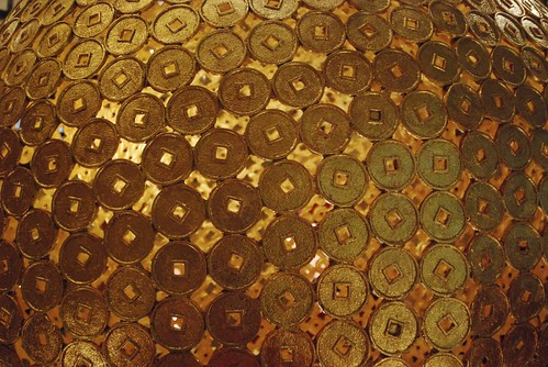 Gold Coin Wall | by 黒忍者