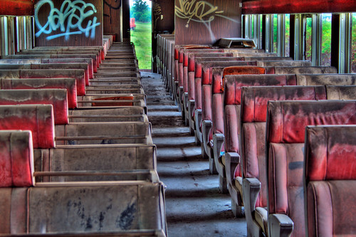Abandoned Train HDR | by blakelyons