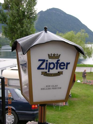 Zipfer Lamp @ Grundlsee