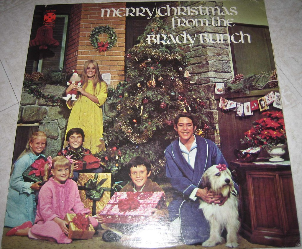 Brady Bunch Christmas.Brady Bunch Christmas Record Monica And Rob Flickr