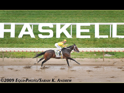Born To Run! Rachel Alexandra and Calvin Borel win the $1.25 million Haskell Invitational | by Rock and Racehorses