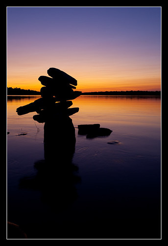 sunset ontario canada water ottawa can morrisisland