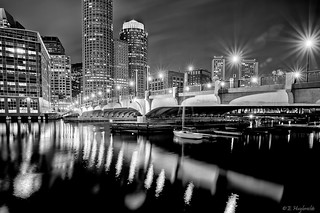 Evelyn Moakley Bridge, Boston, MA | by Manu_H