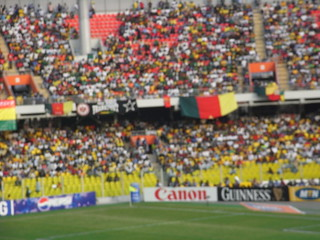 Africa cup final, stand