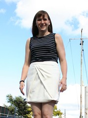 BWOF tulip skirt