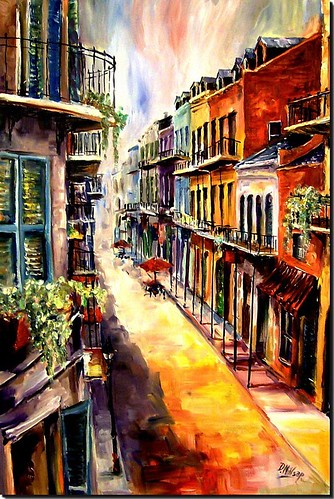 street new original window painting french orleans balcony neworleans royal frenchquarter quarter oilpainting royalstreet neworleansart neworleanspainting