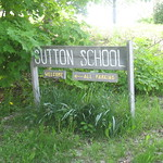 Sutton School Sign