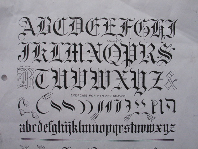 Old English Script | rooant | Flickr