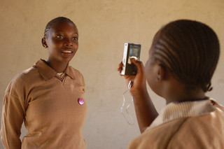 Kids doing interviews on the Flip camera in Kenya   by whiteafrican