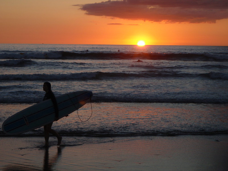 Playa Guiones, Nosara