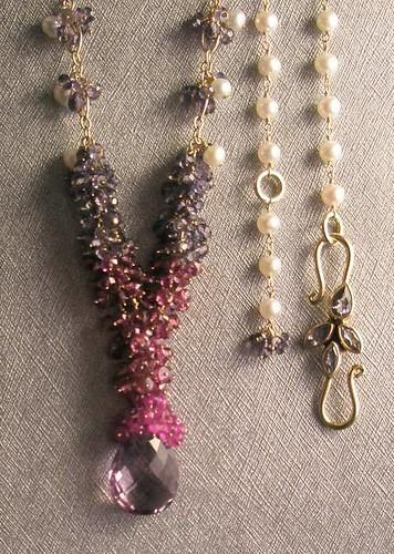 Starlite Jewelry Designs ~ Briolette Necklace