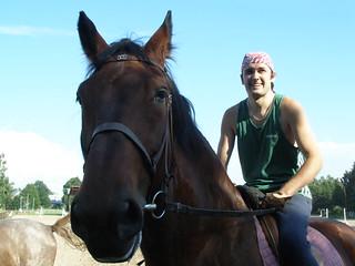 Equestrian sport  Vaivari 06 by Dainis Matisons