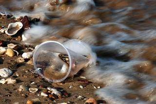 mug on the beach | by Leonard J Matthews