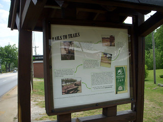 Rails to Trails Sign | by RandomConnections