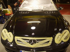 Inegral, Pulido en 3 Fases Mercedes SL
