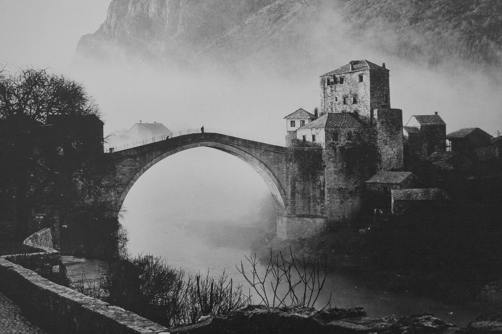 Stari Most; Mostar; old pictures