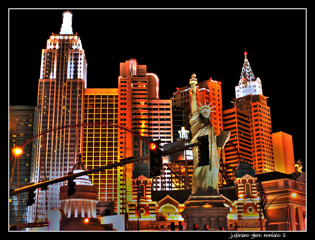 New York New York Hotel And Casino Las Vegas Nevada Flickr