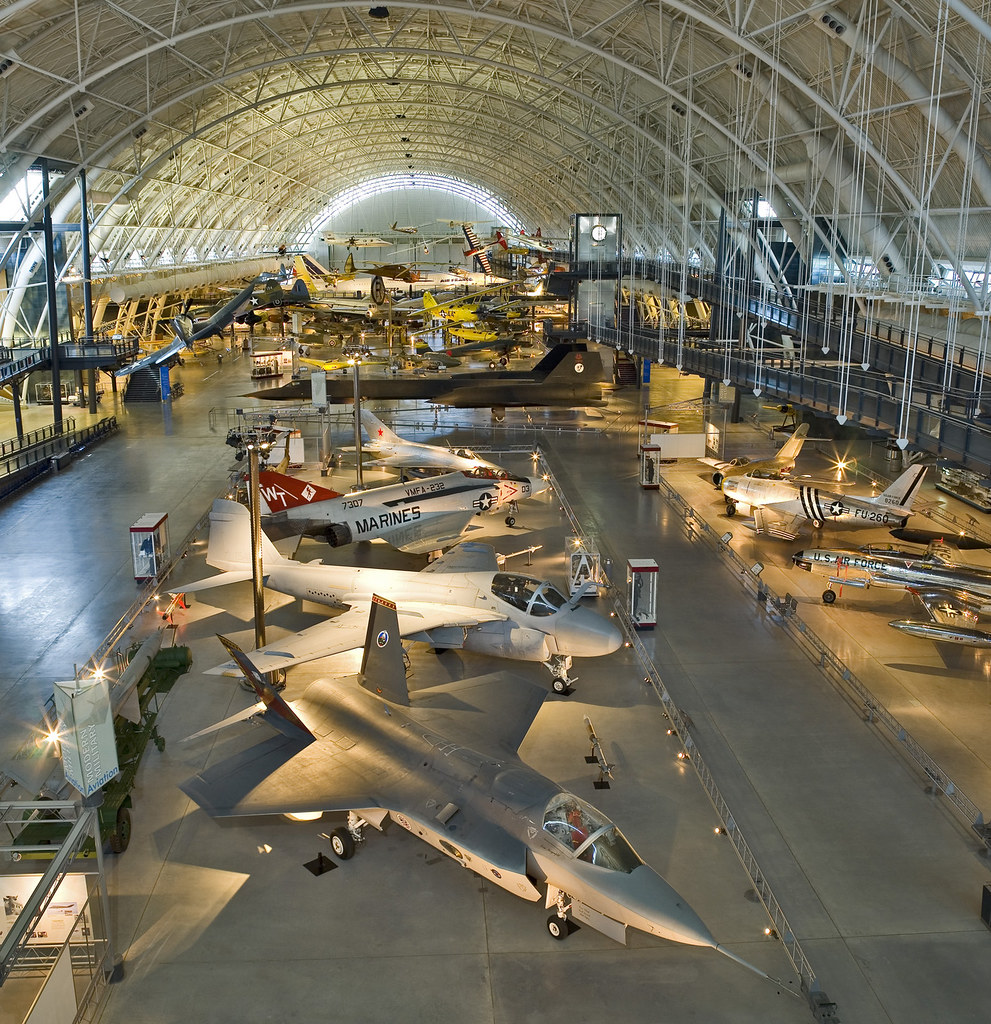 Boeing Aviation Hangar Steven F Udvar Hazy Center Flickr