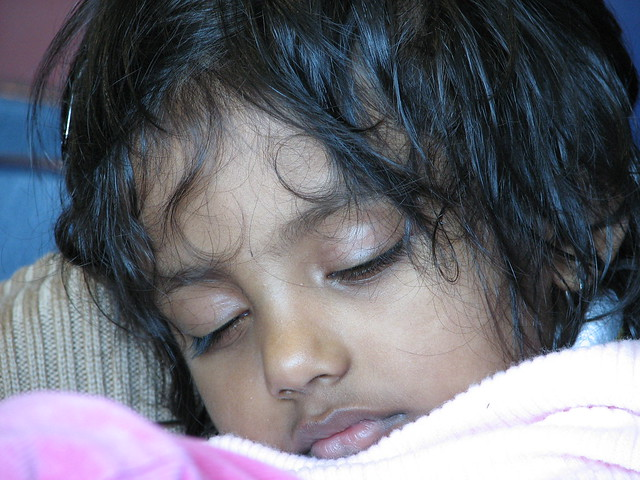 Princess K - the new sleeping beauty.