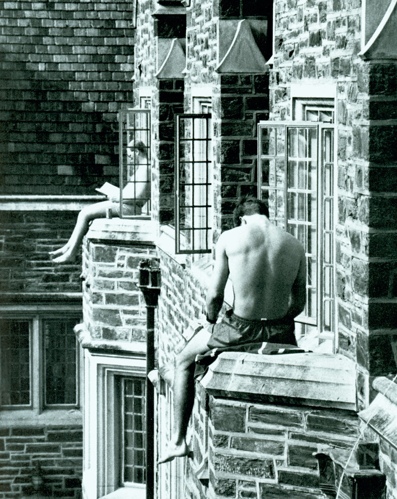 Hard at Work Catching Some Rays, 1986   from 1986 Chanticlee…   Flickr