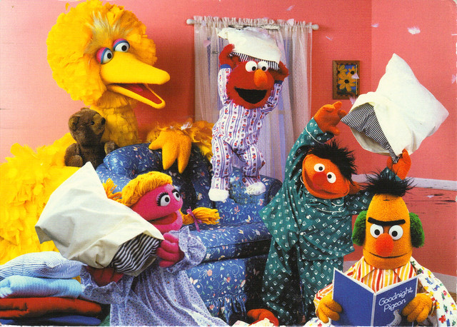Sesame Street Gang Postcard