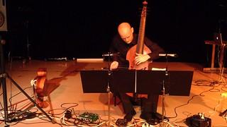 Mikko Perkola performs Lucio Garau's Prima suite per il basso di viola da gamba