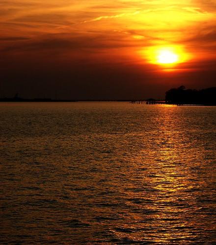 sunset gulfofmexico pascagoula