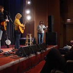 Thu, 11/03/2004 - 1:29pm - The Indigo Girls on stage at a WFUV Marquee member event