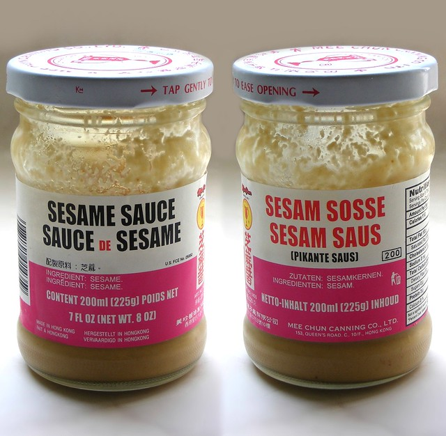 Sesame Pastesauce Meer Over Chinese Sesampasta Op Wwwazi Flickr