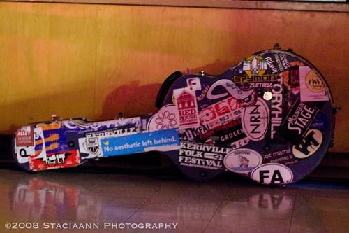 John Hermanson's guitar case | by Staciaann Photography