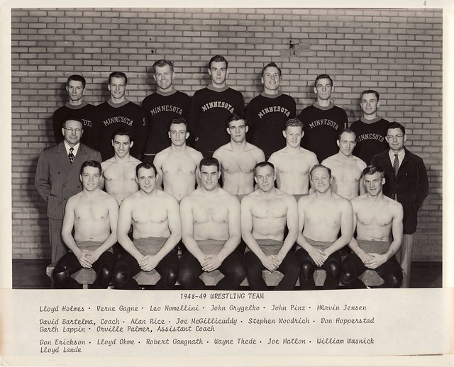 Minnesota Wrestling 1948- 49