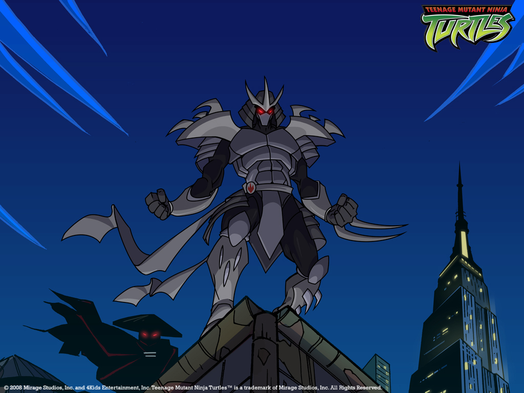 Shredder Rooftop Wallpaper Art By Art By Barrios And L Flickr