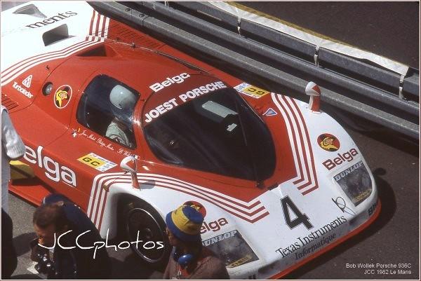 24 Heures du Mans 1982 Porsche Joest 936 C