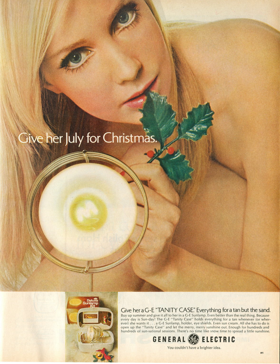 General Electric 'Tanity Case' - 1967