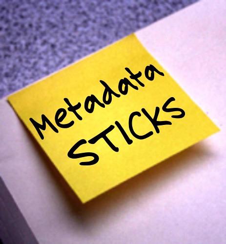Metadata Sticks | by Gideon Burton