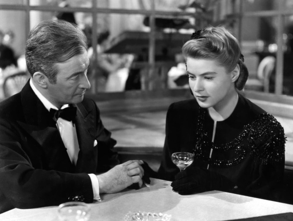 Image result for Notorious 1946 claude rains
