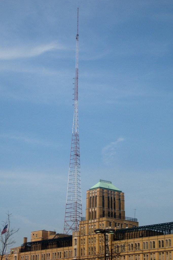 NYC - Brooklyn - Fort Greene: Brooklyn Tech - Radio Tower
