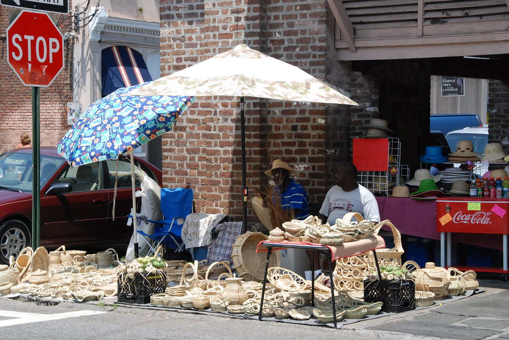 Sweetgrass baskets - Charleston, SC