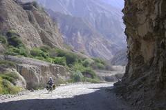 Chuquicara to Yuracmarca road