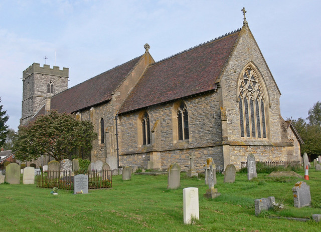 St. Mary Magdalene, Twyning Church from the Southeast